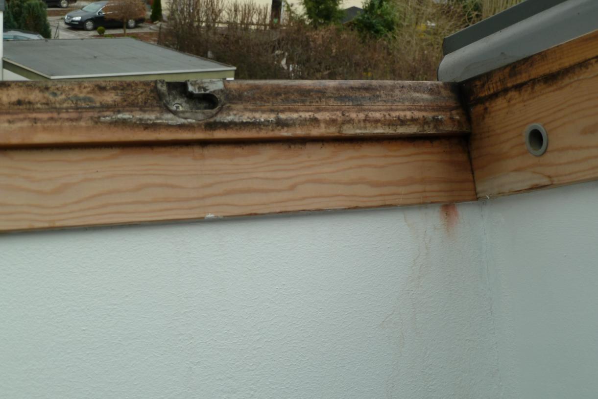 Schimmelbefall bei 3 Dachflächenfenstern