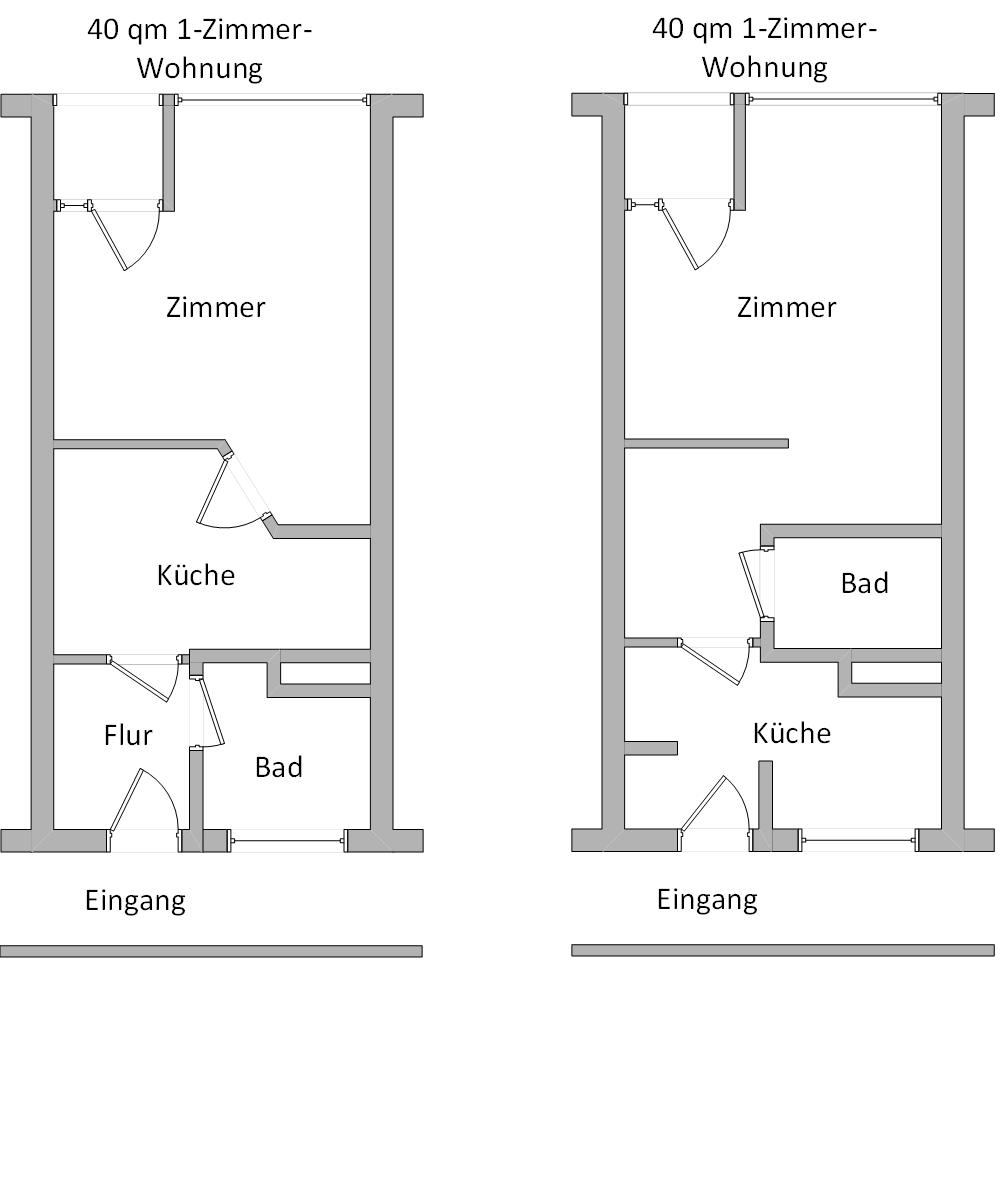 Umfrage: Was kommt besser an, Küche ohne Fenster oder Bad ...